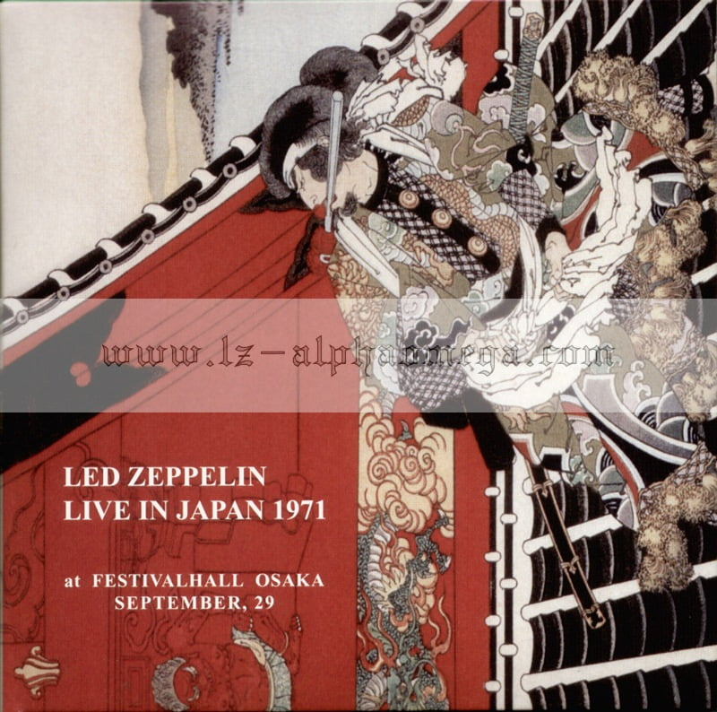 Led Zeppelin Live - Live In Japan 1971
