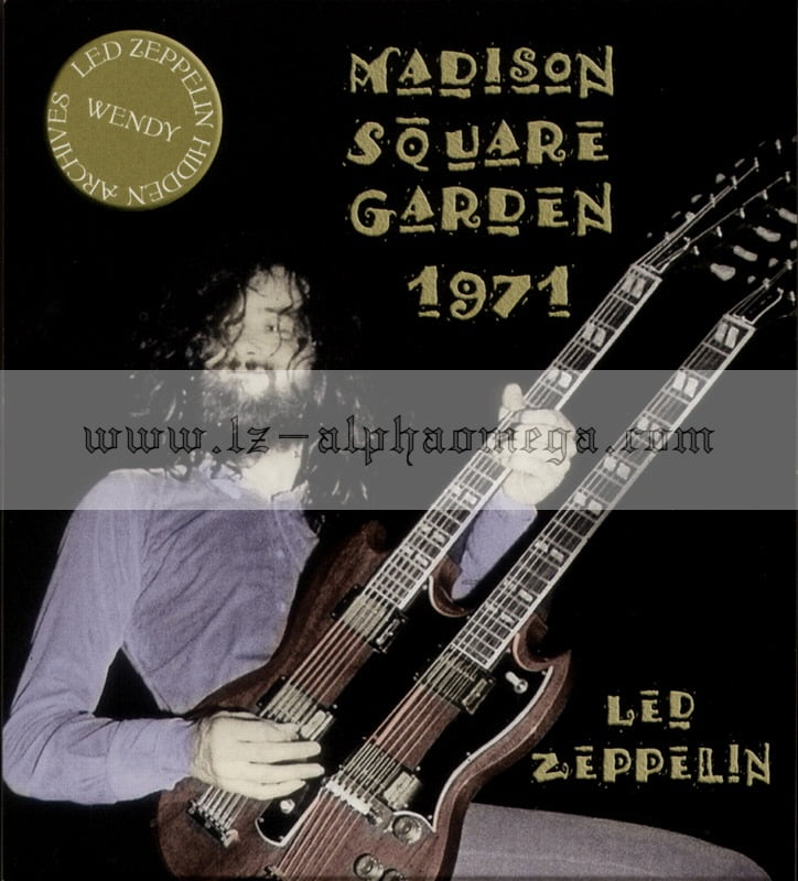 Led Zeppelin Live Madison Square Garden 1971