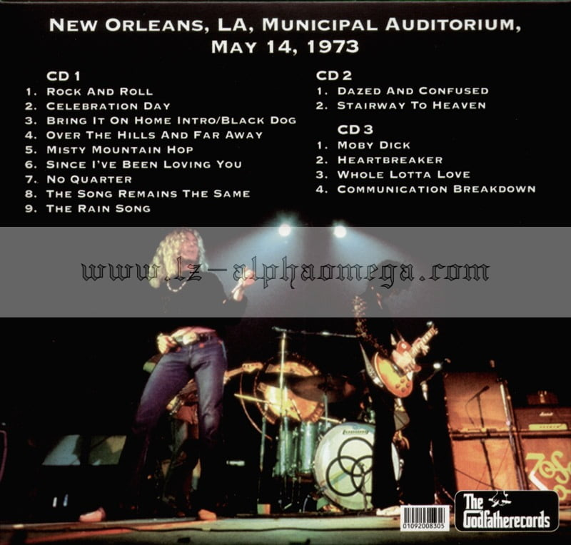 Led Zeppelin Live - The Drag Queen Of New Orleans