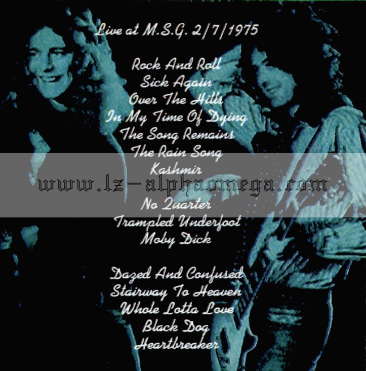 Led Zeppelin Live Trampled Underfoot