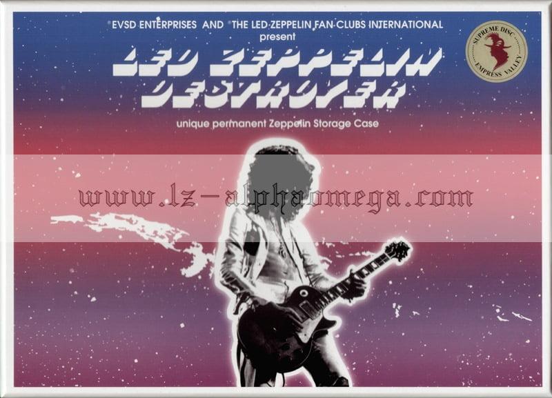 Led Zeppelin Live - The Supreme Destroyers